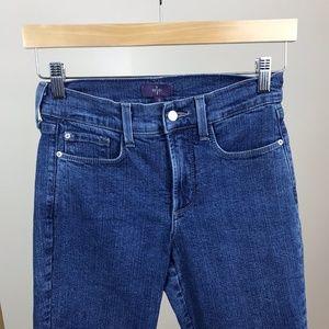 NYDJ Jeans - NYDJ • Crop Jeans Lift Tuck Size 0 Medium Wash